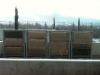 (1) Founex (VD),  janvier 2013 -  Test de protections hivernales pour le VG Biobed