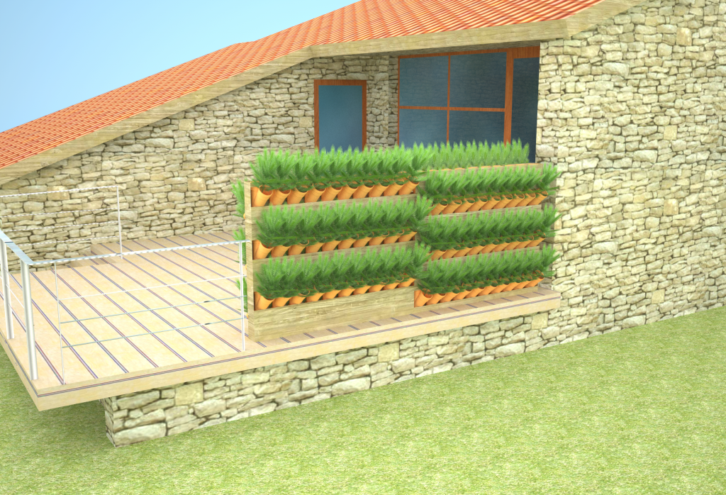 VG Garden clôture